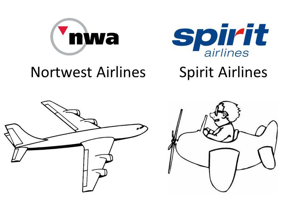 Analizy rynku przez Northwest Główną różnicą pomiędzy firmami jest odmienna perspektywa na rynek przewozów pasażerskich… Northwest nie wyłączał ze swoich analiz, tych pasażerów, których Spirit uznał za niewrażliwych cenowo.