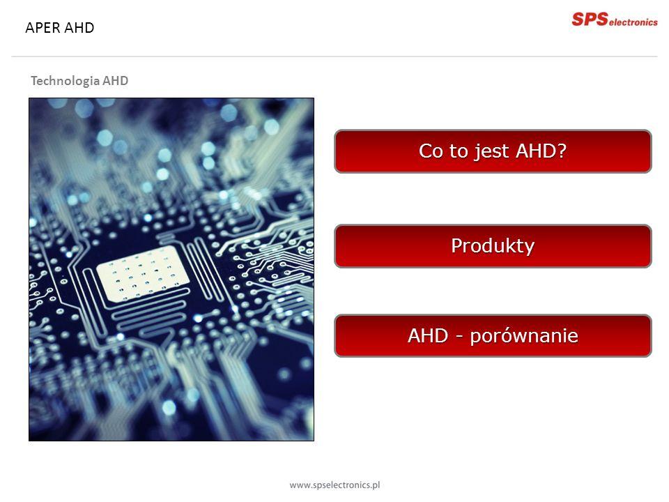 APER AHD Kamery kopułowe: AC-D2310-2.8 1 Megapiksel (1280 x 720) Przetwornik ¼ AHD Min.