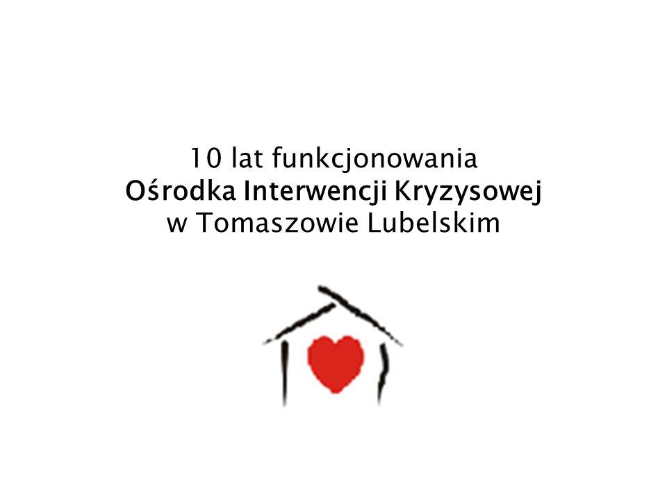 10 lat funkcjonowania Ośrodka Interwencji Kryzysowej w Tomaszowie Lubelskim