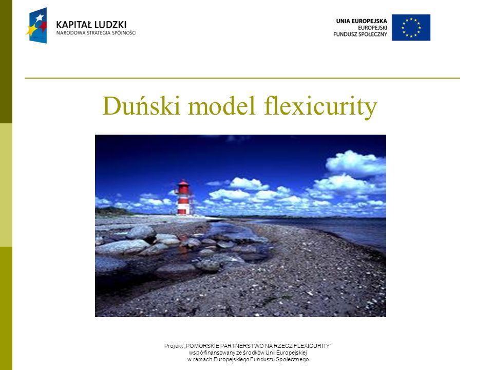 """Duński model flexicurity Projekt """"POMORSKIE PARTNERSTWO NA RZECZ FLEXICURITY współfinansowany ze środków Unii Europejskiej w ramach Europejskiego Funduszu Społecznego"""