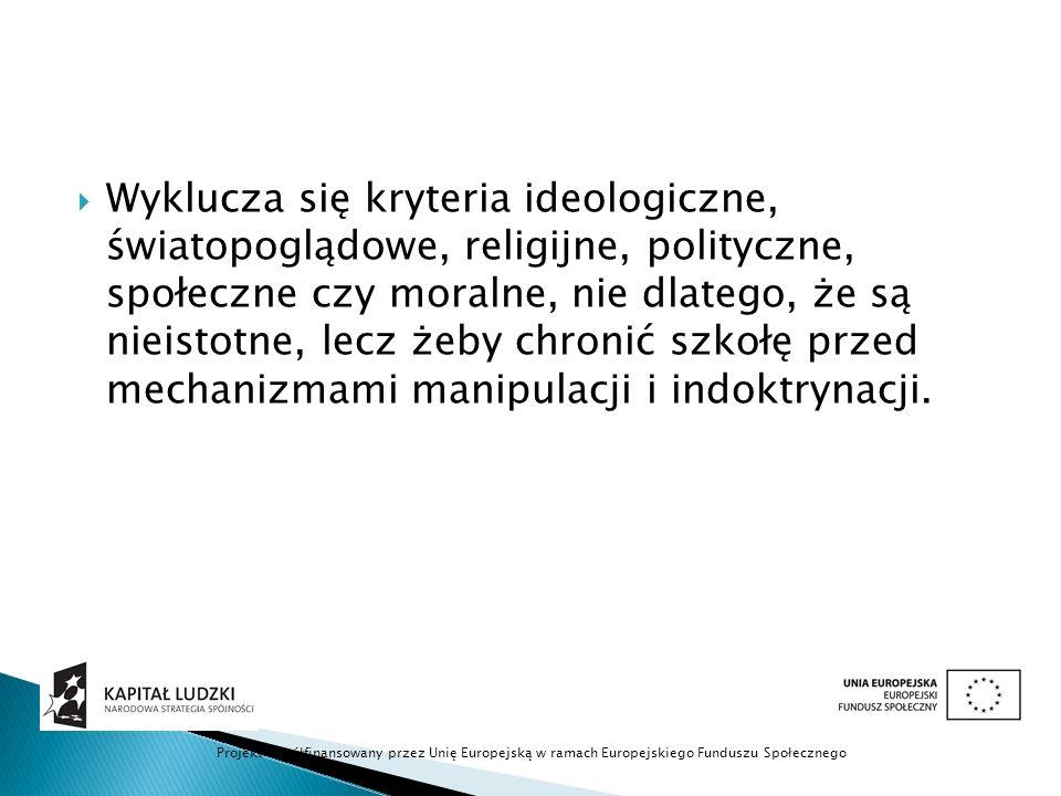  kryterium poznawcze, a więc teksty służące przekazaniu wiedzy o kulturze (np. o konwencjach literackich, dziejach literatury itd.). Projekt współfin
