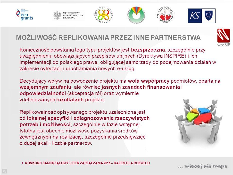 Konieczność powstania tego typu projektów jest bezsprzeczna, szczególnie przy uwzględnieniu obowiązujących przepisów unijnych (Dyrektywa INSPIRE) i ich implementacji do polskiego prawa, obligującej samorządy do podejmowania działań w zakresie cyfryzacji i uruchamiania nowych e-usług.