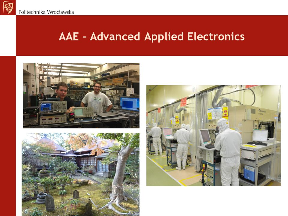 AAE – Advanced Applied Electronics