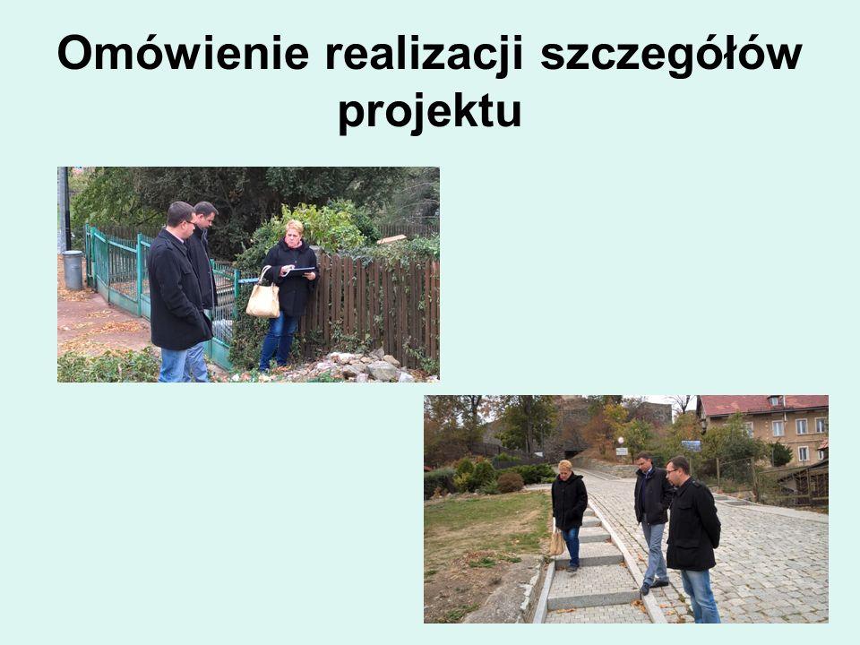 Omówienie realizacji szczegółów projektu
