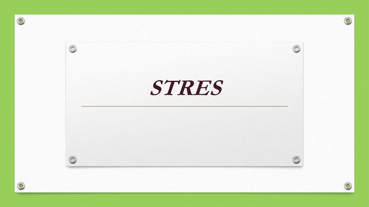 """Termin """"stres pochodzi z fizyki i odnosi się do różnego typu napięć, nacisków lub sił, które działają na system."""