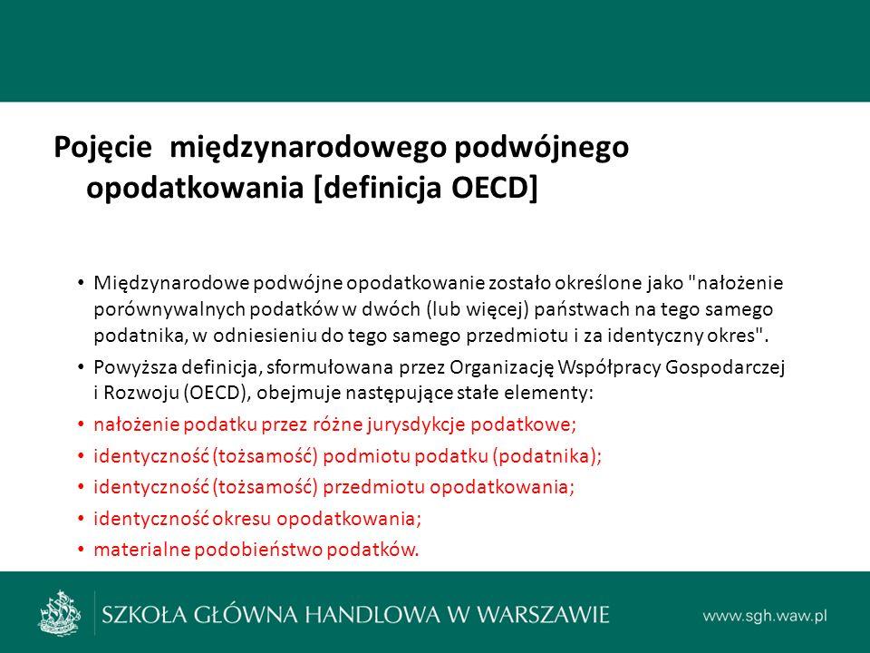 LITERATURA: Janusz Fiszer, Unikanie podwójnego opodatkowania (6): Zakład, Przegląd Podatkowy , nr 11/1992, s.