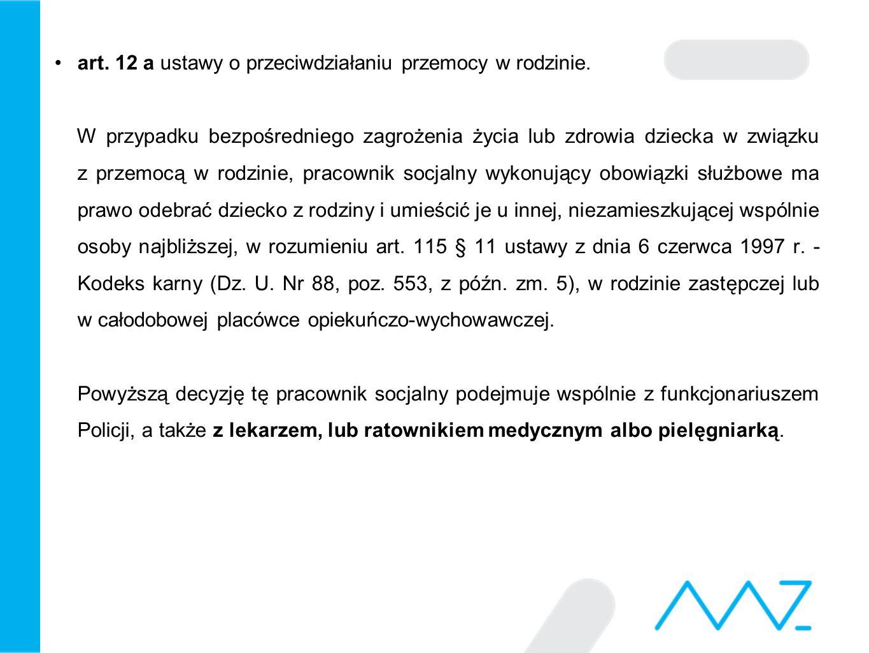 Zespoły interdyscyplinarne Art.9a.