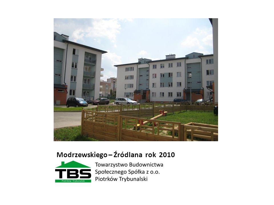 Modrzewskiego – Źródlana rok 2010