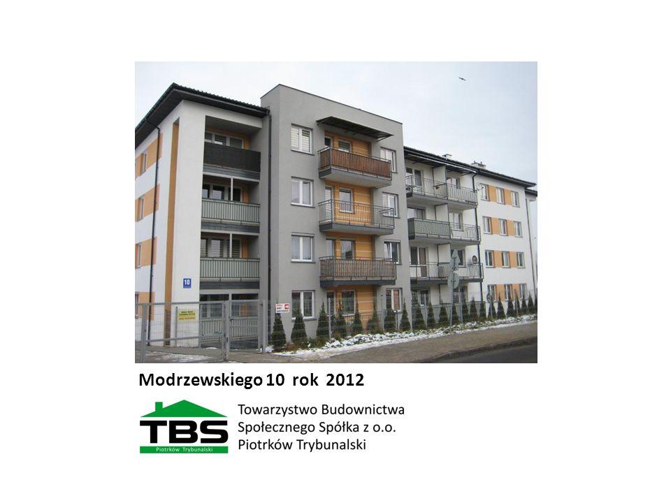 Modrzewskiego 10 rok 2012