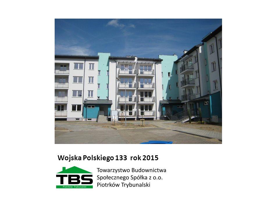 Wojska Polskiego 133 rok 2015