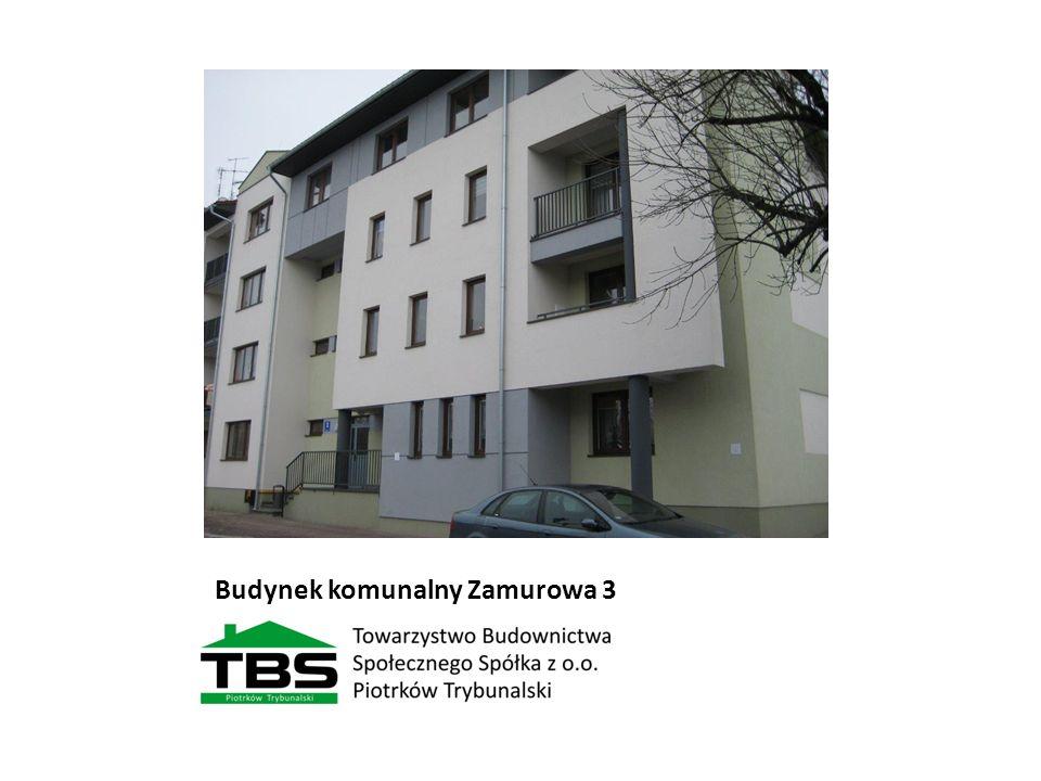 Budynek komunalny Zamurowa 3