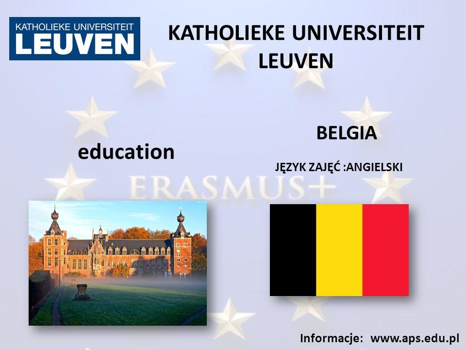 UNIVERSITÀ DEGLI STUDIO DI MILANO - BICOCCA JĘZYK ZAJĘĆ: WŁOSKI Informacje: www.aps.edu.pl education WŁOCHY