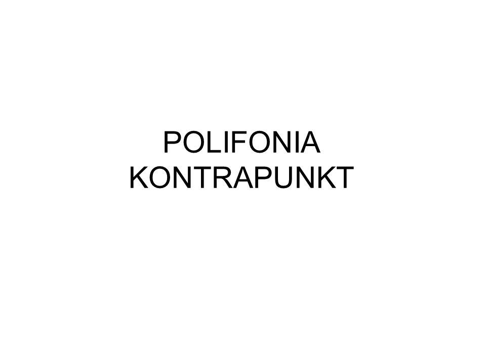 POLIFONIA KONTRAPUNKT