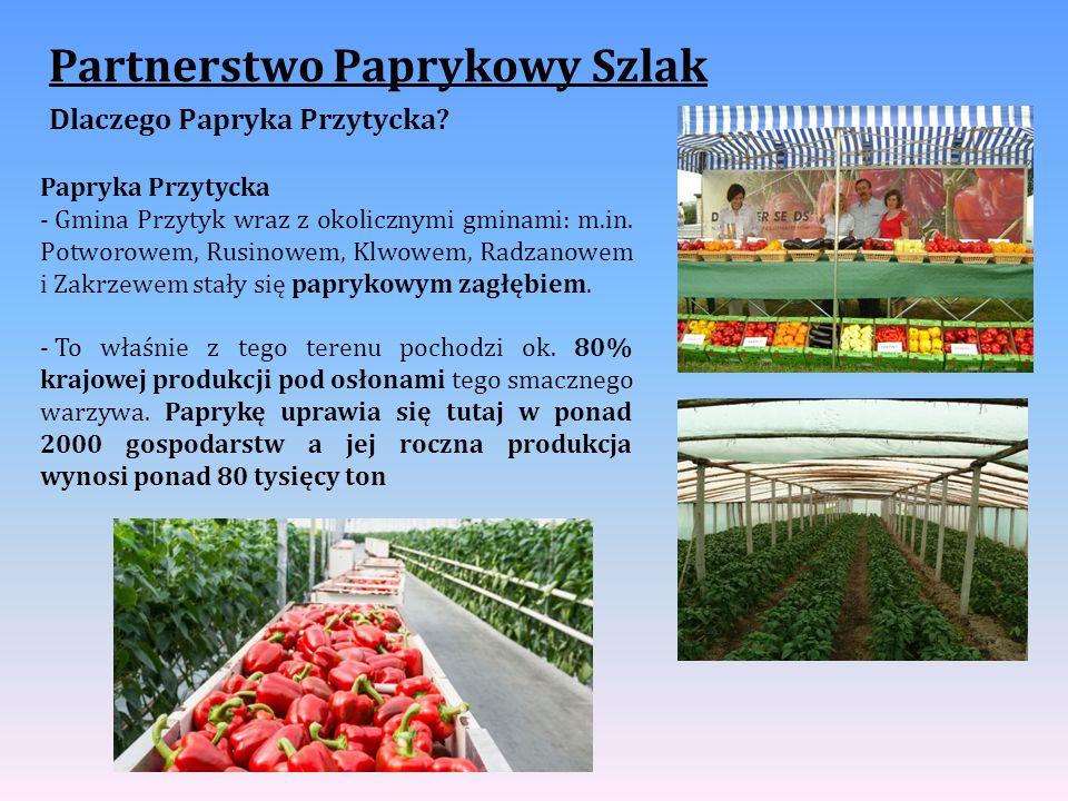 Partnerstwo Paprykowy Szlak Dlaczego Papryka Przytycka.