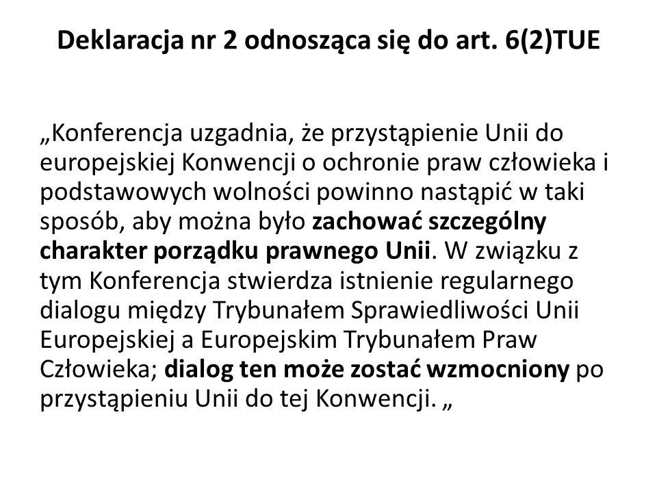 Deklaracja nr 2 odnosząca się do art.
