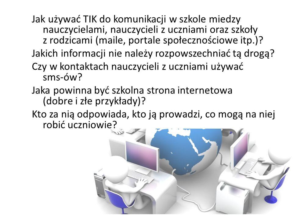Zasada 5 Komputery pod ręką.