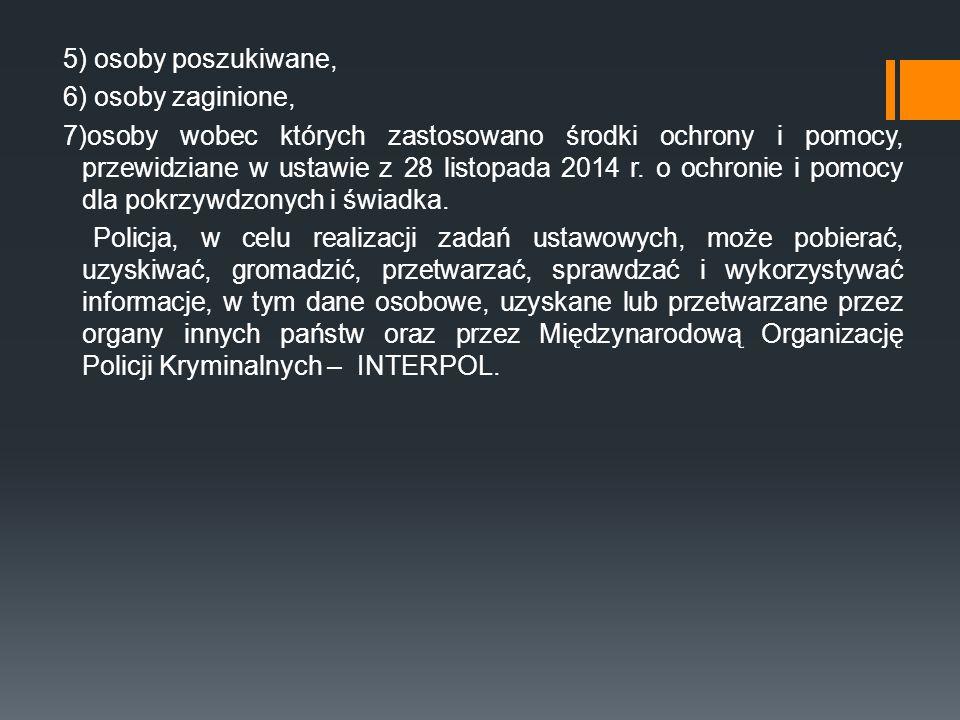 """9) Zintegrowanego Systemu Ewidencji II administrowanego przez Straż Graniczną, zwanego w KSIP """"ZSE SG ; 10) Krajowego Rejestru Sądowego, zwanego w KSIP """"KRS WWW ; 11) krajowego zbioru rejestrów, ewidencji i wykazu w sprawach cudzoziemców o nazwie """"System POBYT ; 12) rejestrów w sprawach małego ruchu granicznego, zwanych w KSIP """"MRG WWW ; 13) Europejskiego Systemu Informacji o Pojazdach i Prawach Jazdy (EUCARIS)."""