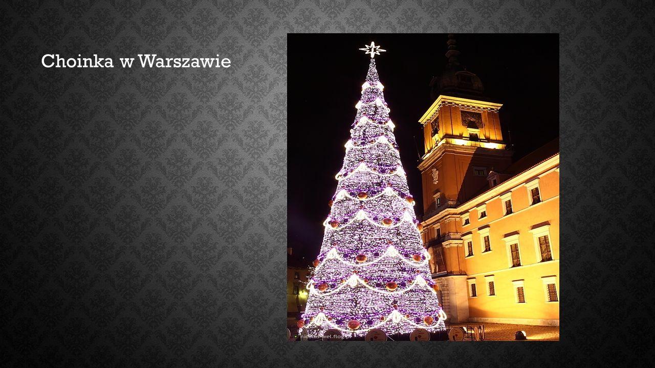Choinka w Warszawie