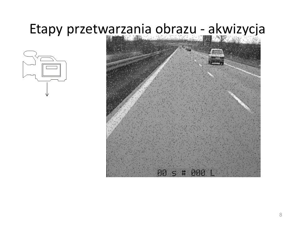 Etapy przetwarzania obrazu - akwizycja 8