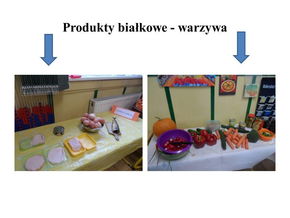 Produkty białkowe - warzywa