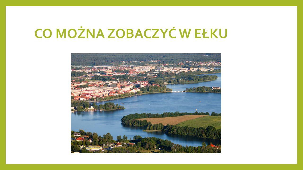 Wieża Ciśnień Wieża ciśnień w Ełku – wieża wodna znajdująca się w Ełku przy skrzyżowaniu ulic 11 Listopada i Kajki, powstała w 1895 r., jedna z najlepiej zachowanych wież ciśnień na Mazurach.