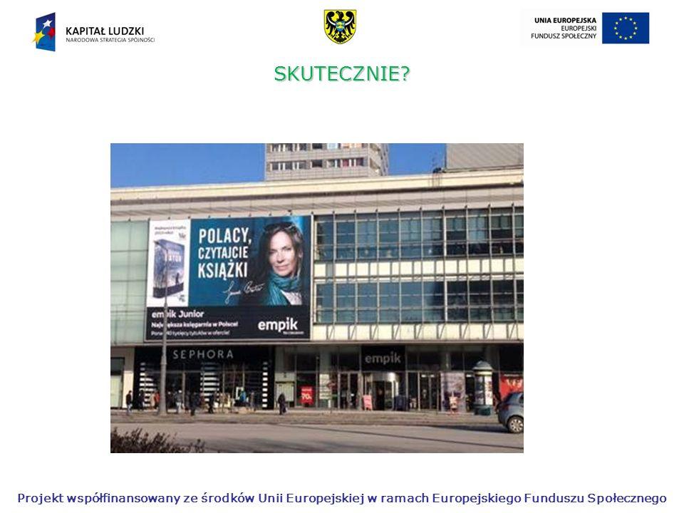 Projekt współfinansowany ze środków Unii Europejskiej w ramach Europejskiego Funduszu Społecznego Propozycje dydaktyczne - eksponat lektury w obrazach, tzw.