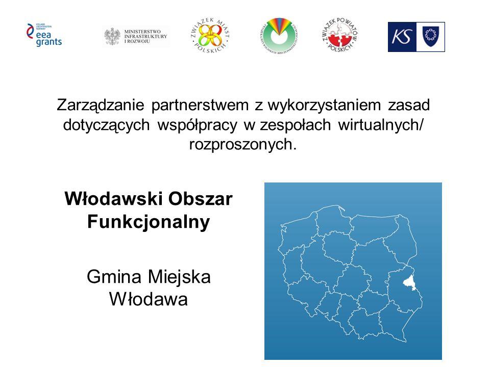 Zarządzanie partnerstwem z wykorzystaniem zasad dotyczących współpracy w zespołach wirtualnych/ rozproszonych. Włodawski Obszar Funkcjonalny Gmina Mie