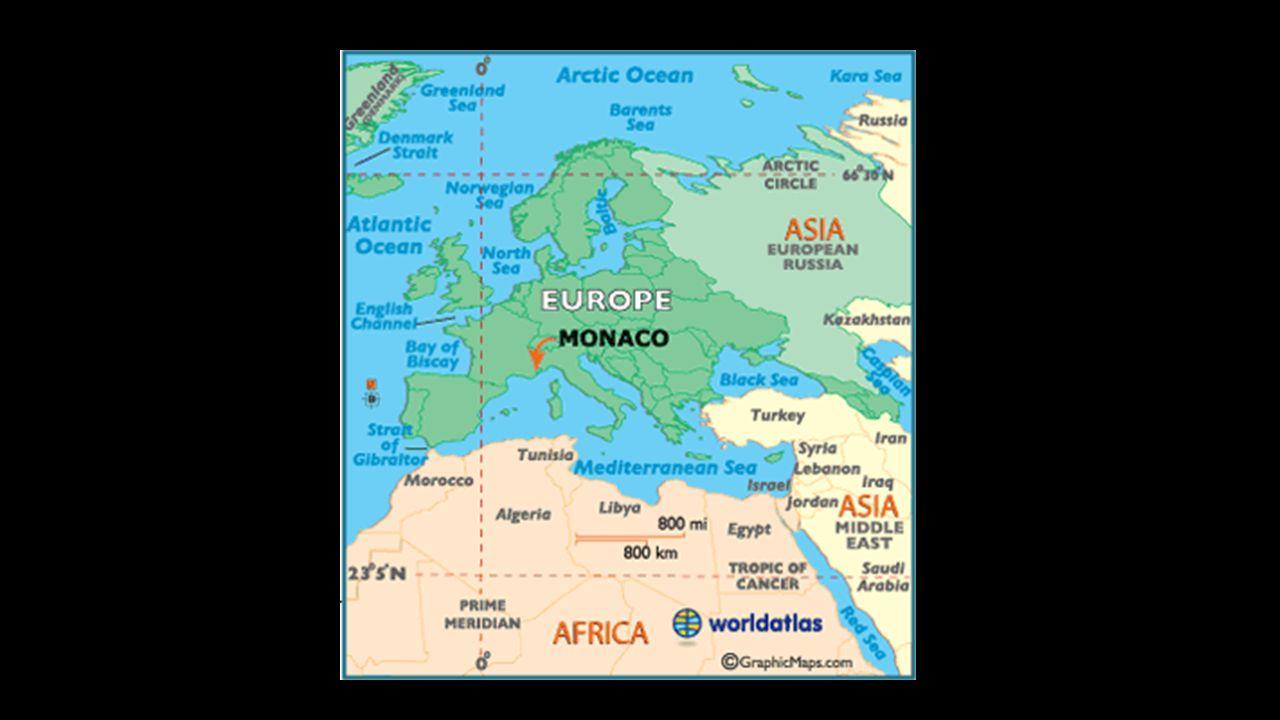 Klimat Monako, jak i całe Lazurowe Wybrzeże leży w strefie klimatu podzwrotnikowego o łagodnej śródziemnomorskiej odmianie.