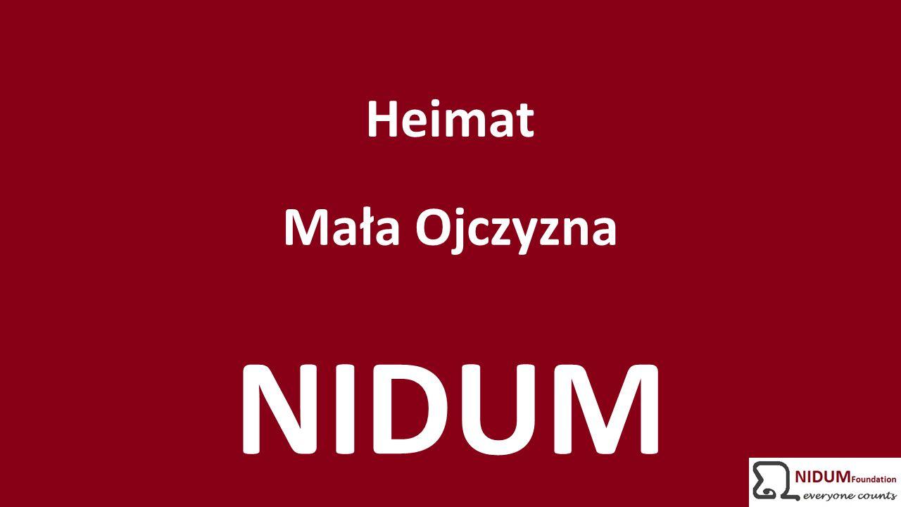 Heimat Mała Ojczyzna NIDUM