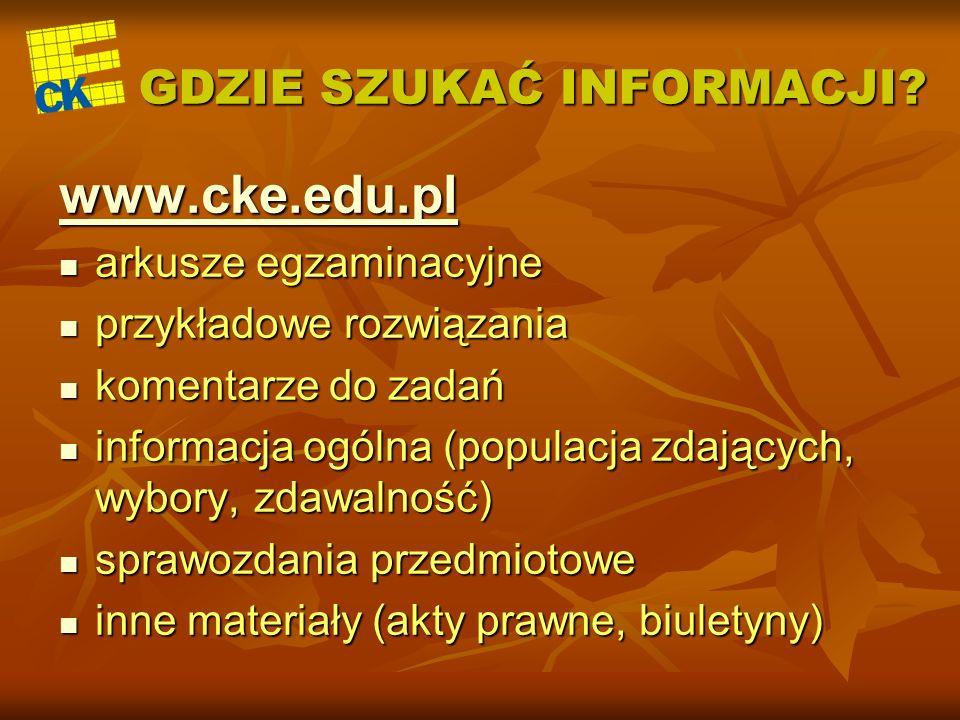 CZĘŚĆ USTNA CZĘŚĆ PISEMNA Język polski Język obcy (podst.