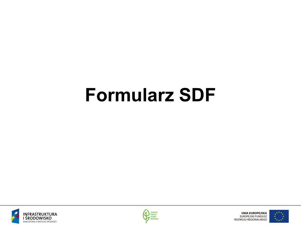 Formularz SDF