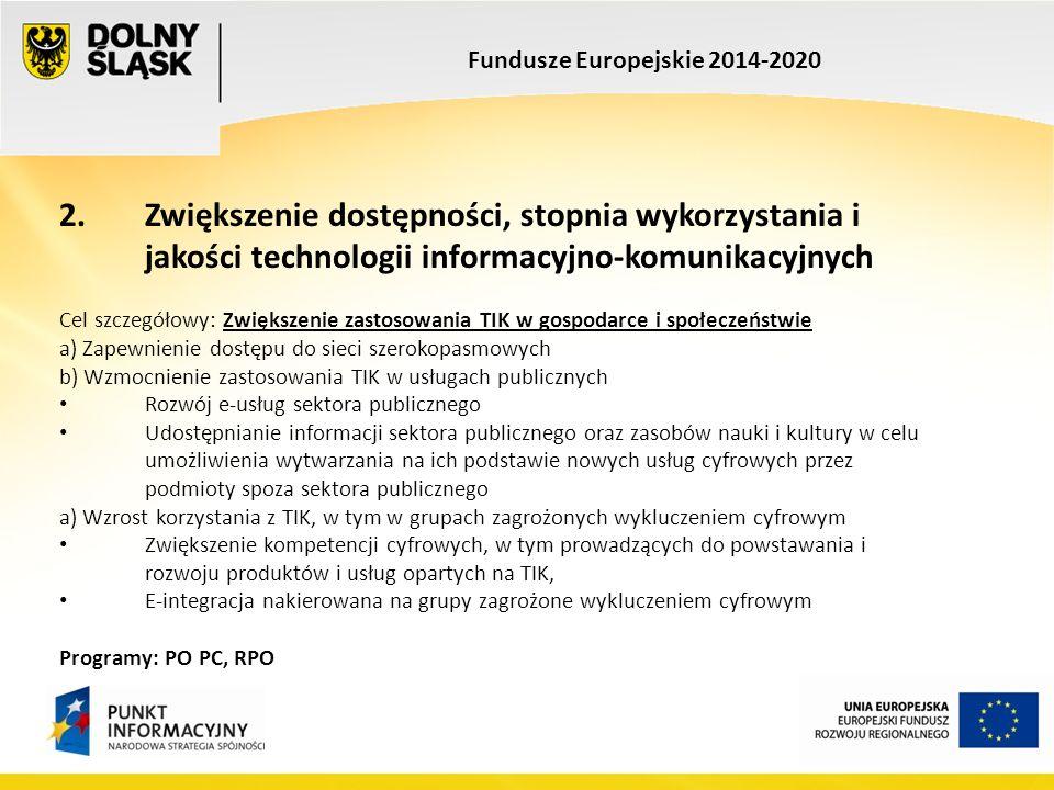Fundusze Europejskie 2014-2020 3.
