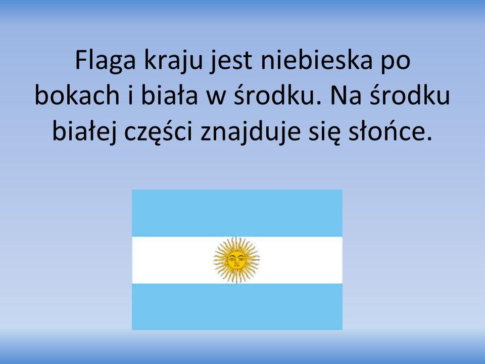 Flaga kraju jest niebieska po bokach i biała w środku. Na środku białej części znajduje się słońce.