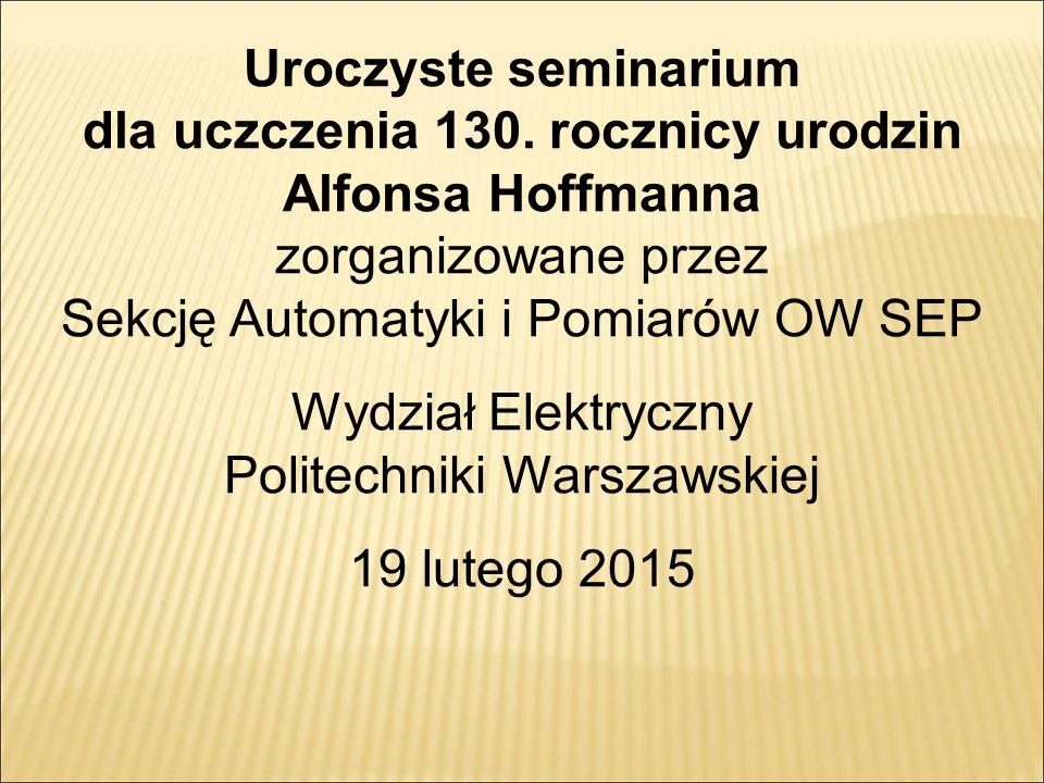 Uroczyste seminarium dla uczczenia 130.