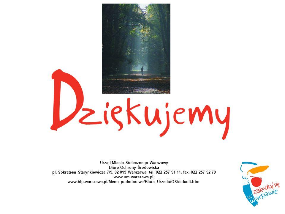 Urząd Miasta Stołecznego Warszawy Biuro Ochrony Środowiska pl.