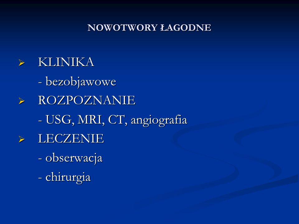NOWOTWORY ŁAGODNE 1.