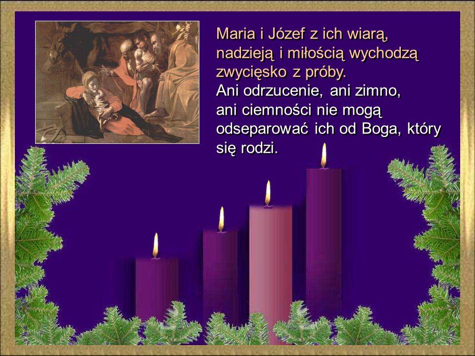 """""""Kiedy tam przebywali, nadszedł dla Maryi czas rozwiązania. Porodziła swego pierworodnego Syna, owinęła Go w pieluszki i położyła w żłobie, gdyż nie b"""