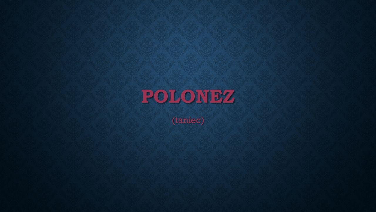 POLONEZ (taniec)