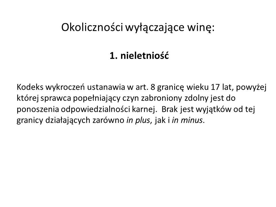 Błąd co do karalności Art.7 § 1 k.w.