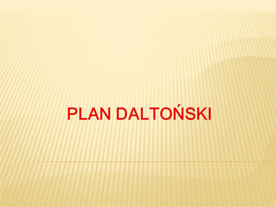PLAN DALTOŃSKI