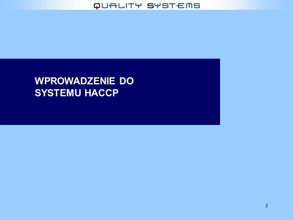 3 WPROWADZENIE DO SYSTEMU HACCP