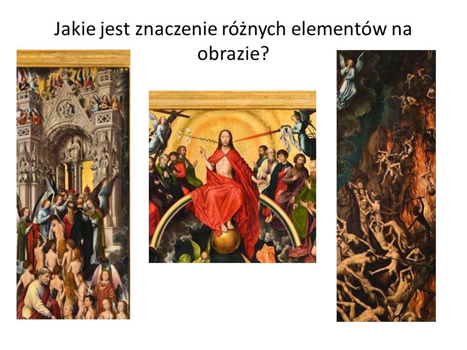 Jakie jest znaczenie różnych elementów na obrazie