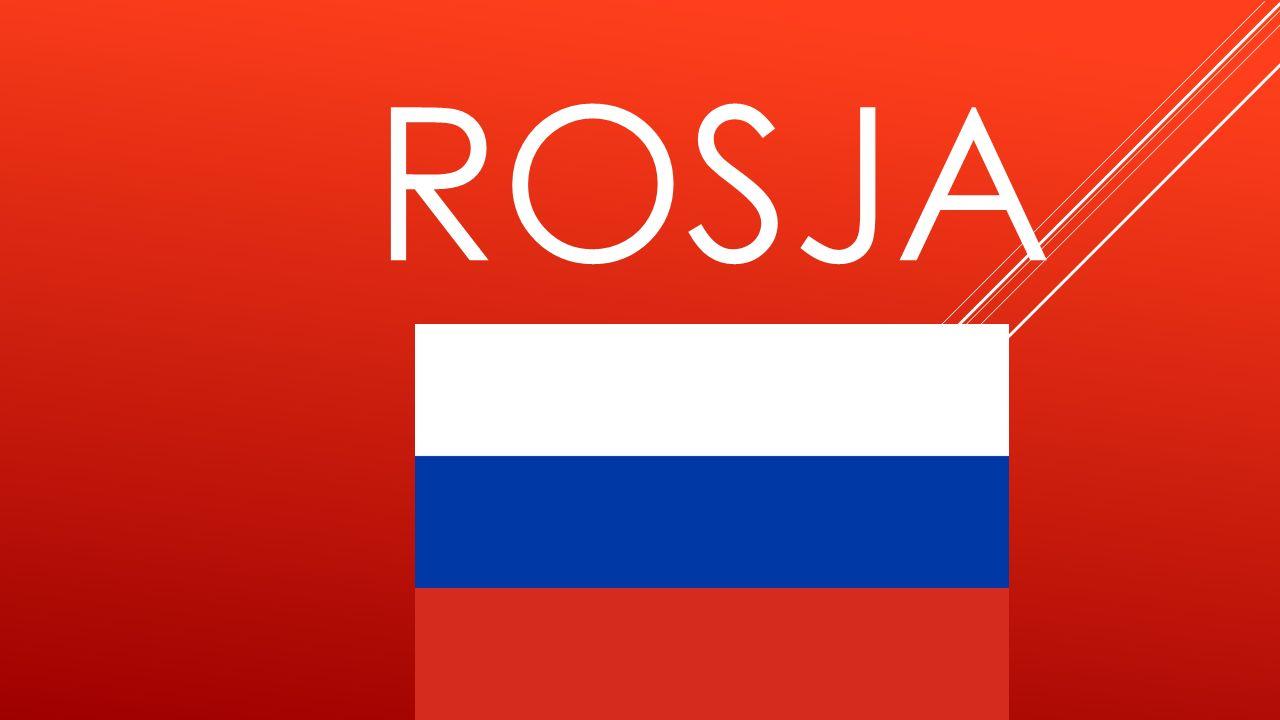 O ROSJI  Stolicą Rosji jest Moskwa  W Rosji ludzie mówią po rosyjsku  W języku rosyjskim nie korzysta się z alfabetu łacińskiego, ale z tak zwanej grażdanki, unowocześnionej wersji cyrylicy