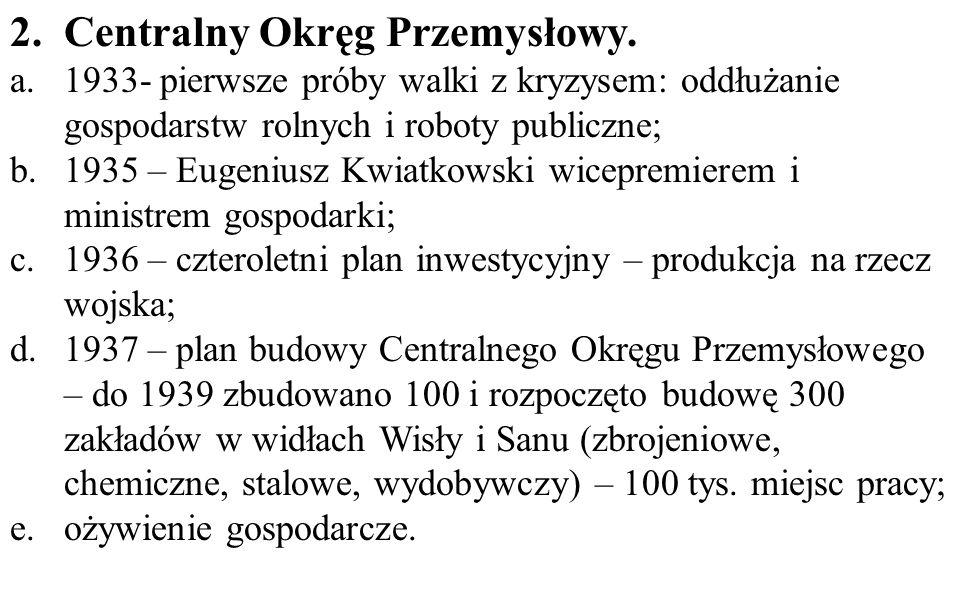 2.Centralny Okręg Przemysłowy.
