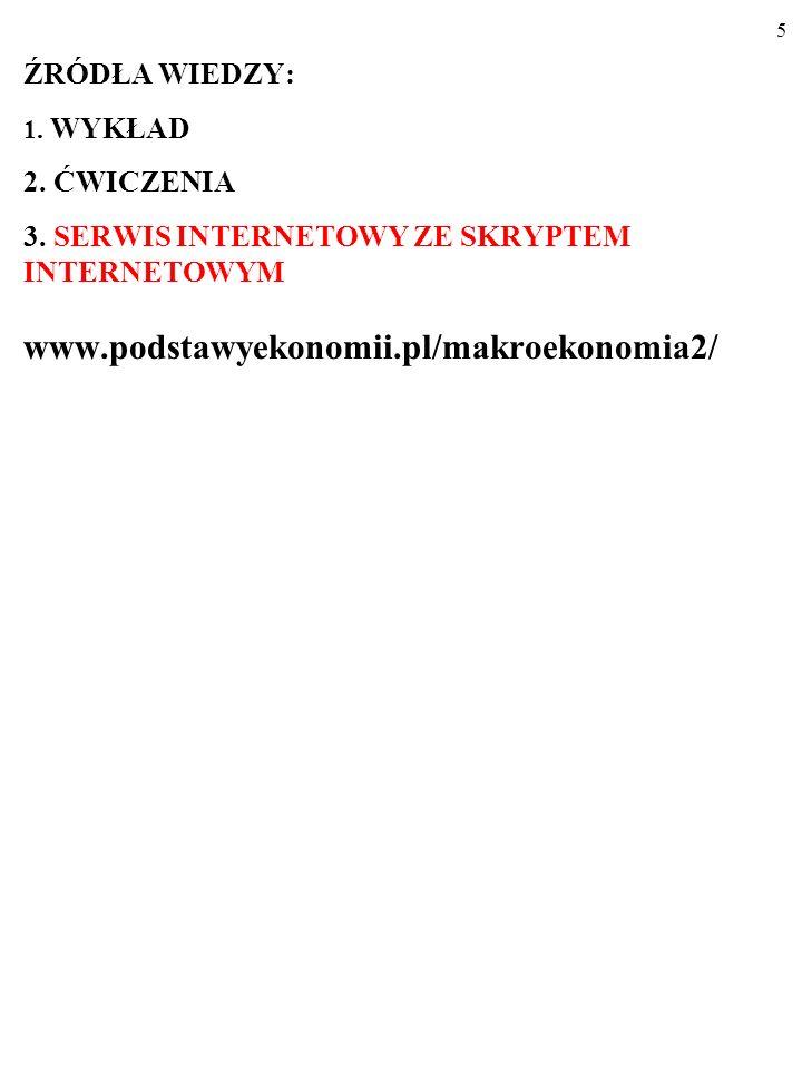 15 2.PRZYPŁYWY I ODPŁYWY W GOSPODARCE (ang. injec- tions, leakages).