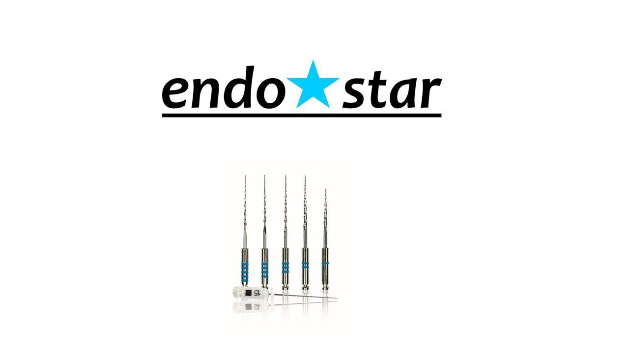 System Endostar E5 Endostar E5 to nowoczesny system rotacyjnych narzędzi niklowo-tytanowych zaprojektowany do pracy metodą Crown – Down.
