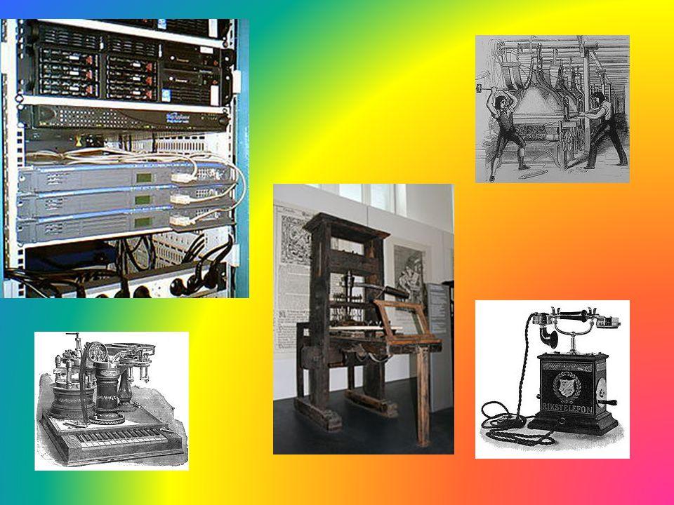 Komputery Wynalezienie komputerów i Internetu pozwoliło na bardzo szybką komunikację między ludźmi np.