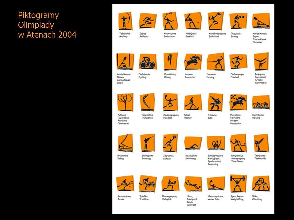 Piktogramy Olimpiady w Londynie 2012