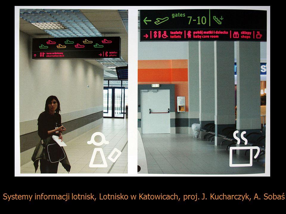 Systemy informacji lotnisk, Lotnisko w Katowicach, proj. J. Kucharczyk, A. Sobaś