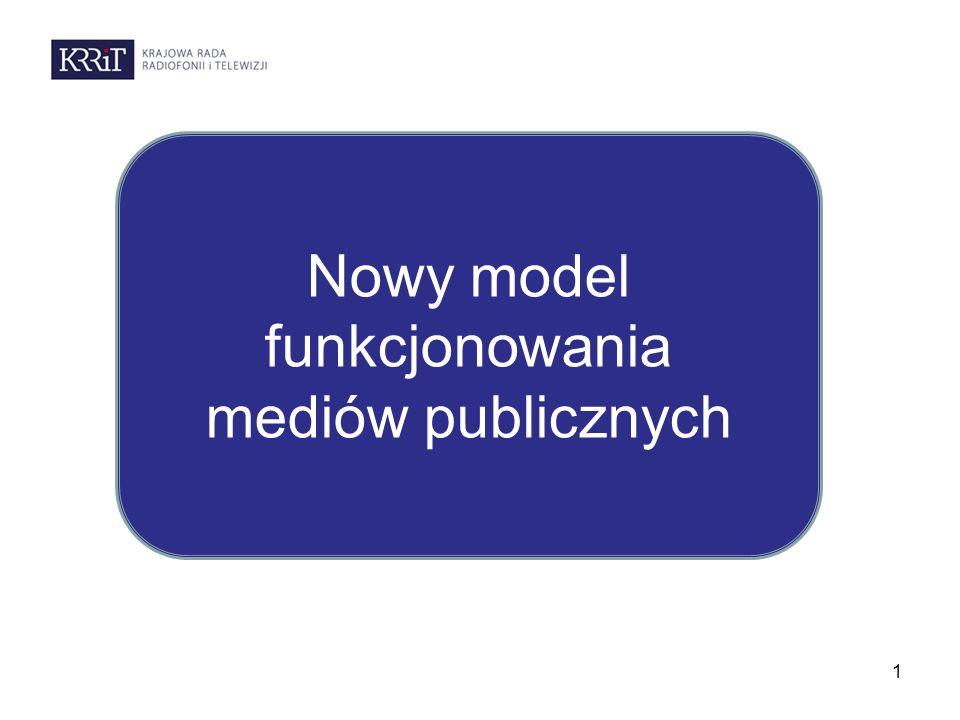 1 Nowy model funkcjonowania mediów publicznych